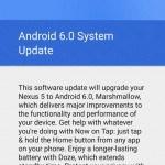 Cum fortezi Nexus 5 sa faca update la Android M