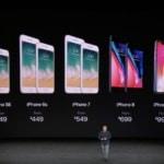 Tocmai s-au lansat iPhone 8, 8 plus si X